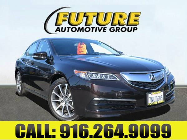 ➲ 2015 Acura TLX - LOADED WITH EXTRAS ...PLUS ONLY 9K MILES!!