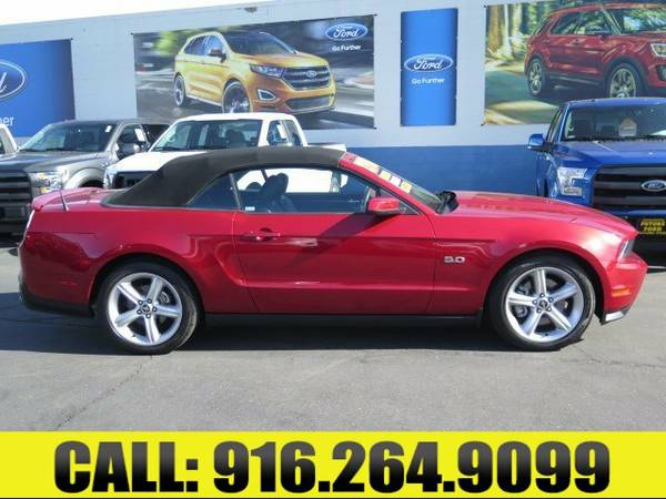 ➲ 2011 Ford Mustang GT Convertible----ONLY 8K MILES!!