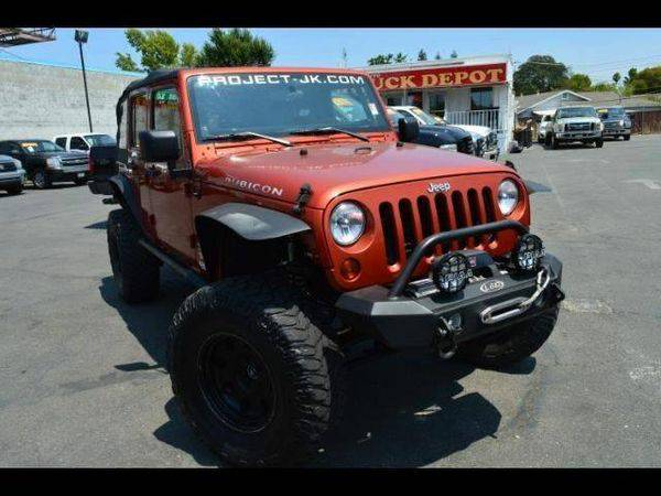2009 *Jeep* *Wrangler* *Unlimited* Rubicon 4x4 4dr SUV **2 car lots -