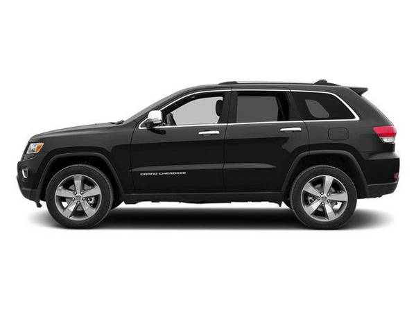 2014 *Jeep Grand Cherokee* Limited - Jeep Brilliant Black Crystal...