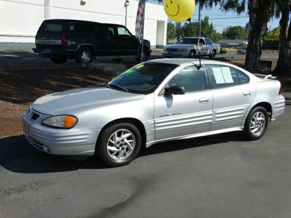 2001 Pontiac Grand Am 4dr Sdn SE1