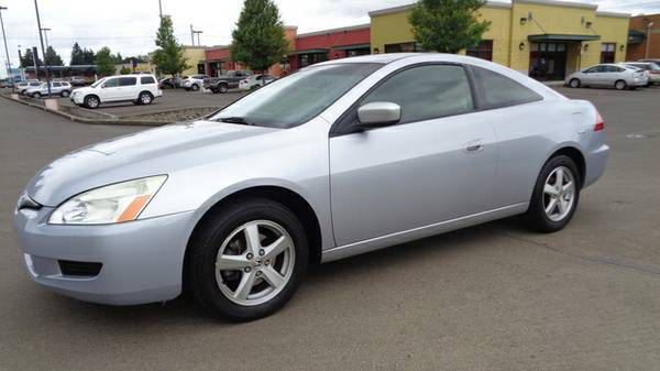 +++ !!!! 2005 Honda Accord EX Coupe AT with Leather and XM Radio !!!...