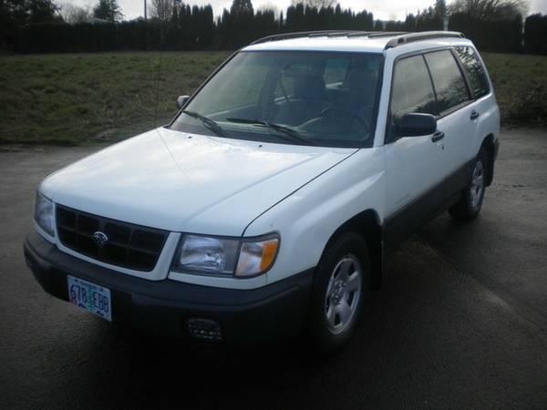 1998 Subaru Forester L -- Good Credit- Bad Credit- No Credit