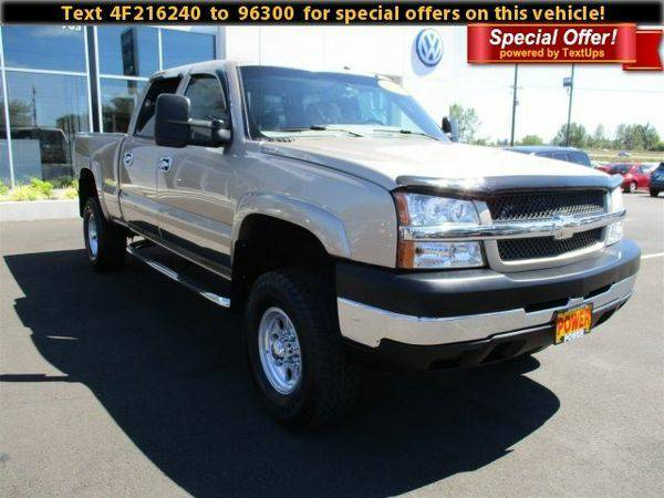 2004 *Chevrolet* *Silverado* *2500HD* LT - Call/Text