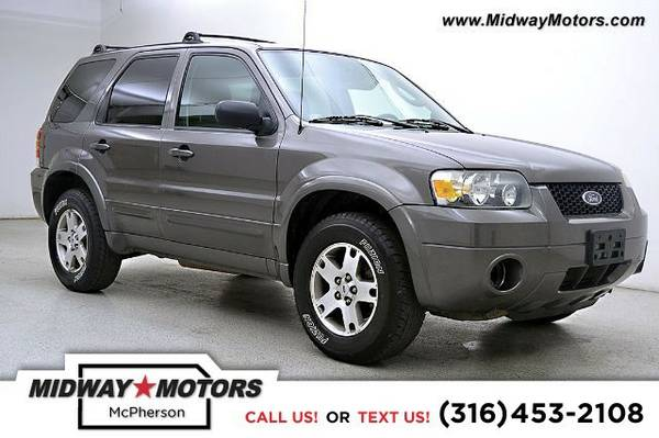 2005 Ford Escape Limited 3.0L Automatic SUV Escape Ford