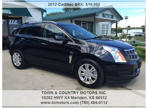 2012 CADILLAC SRX ◆◇◆ 59000 MILES! LUXURIOUS LOW...