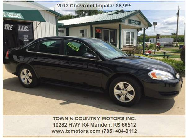 2012 CHEVROLET IMPALA ◆◇◆ 81000 MILES! SUPERB! 0...