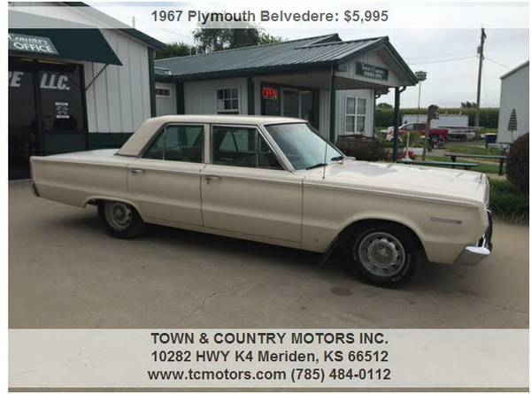1967 PLYMOUTH BELVEDERE ◆◇◆ 34000 MILES! SUPERB!...