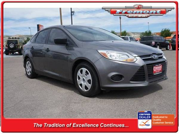 Stock 6D16030A 2012 Ford Focus 4dr Car 4dr Sdn S