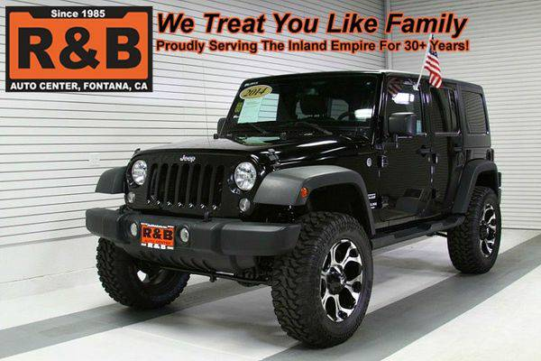 2014 *Jeep* *Wrangler* *Unlimited* -LOW PAYMENTS