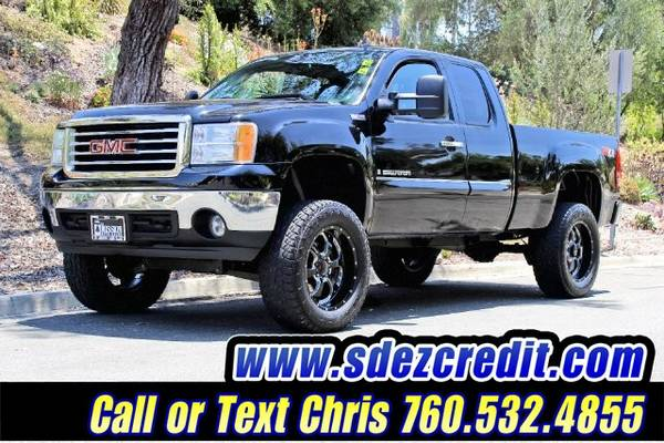 2008 GMC Sierra 1500 SLE1 4x4 Lifted Stock# 81243498
