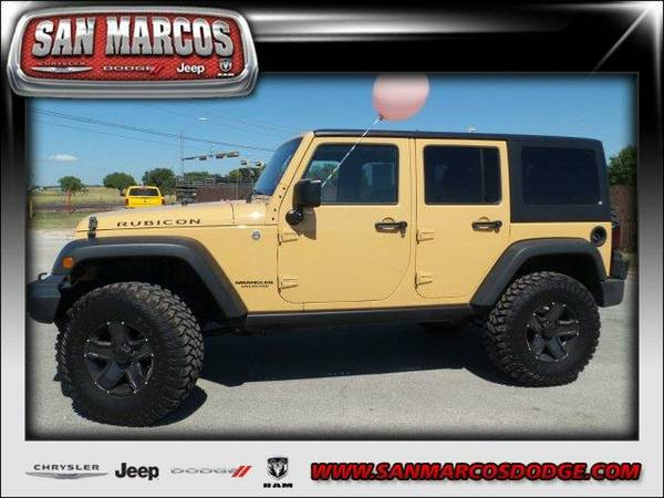 2014 *Jeep Wrangler Unlimited* Rubicon - Dune Clear Coat