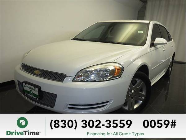 Beautiful 2012 *Chevrolet Impala* LT (WHITE) - Clean Title