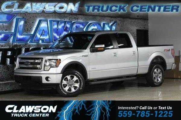 2014 Ford F-150 4WD SuperCrew 145 Lariat Truck F-150 Ford