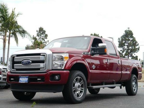 2016 *Ford Super Duty F-350 SRW* - RUBY RED METALLIC