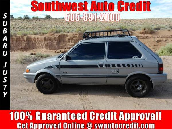 1989 Subaru Justy *IN HOUSE FINANCING*
