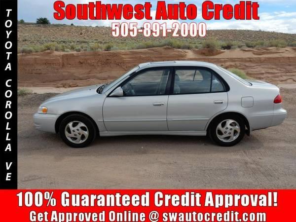 1999 Toyota Corolla VE 4dr Sedan *IN HOUSE FINANCING*