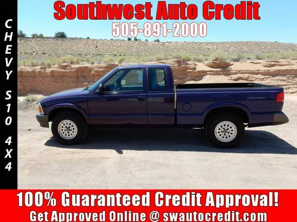 1995 Chevrolet S-10 LS 2dr 4WD Extended Cab SB *IN HOUSE FINANCING*