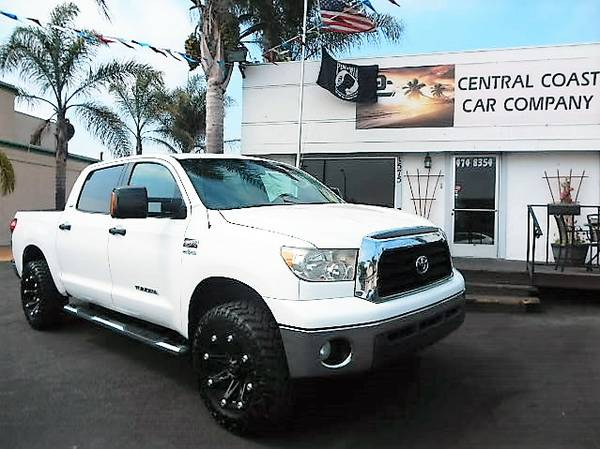 2008 TOYOTA TUNDRA CREWMAX TEXAS EDITION LIFTED NICE TRUCK!!!!