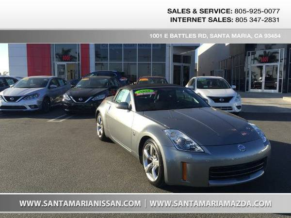 2006 *Nissan 350Z* Touring - Silver Alloy Metallic