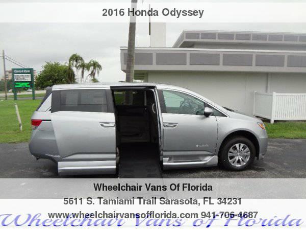 2016 Honda Odyssey Wheelchair Van Handicap