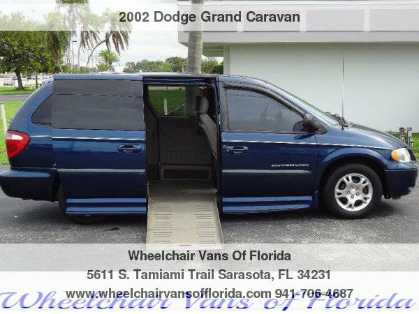 2002 Dodge Caravan Wheelchair Handicap Van