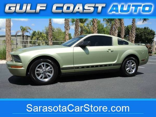 2005 Ford Mustang Deluxe! 1-OWNER! FL CAR! ONLY 82K MI! LEATHER!...
