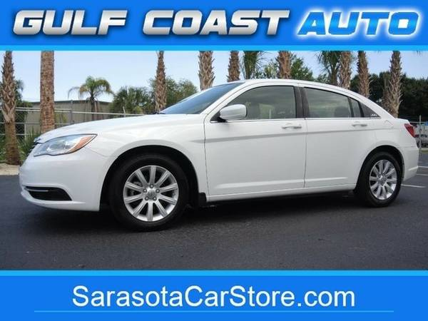 2013 Chrysler 200 Touring! 1-OWNER! LOW MILES! CARFAX CERT! TAKE A...