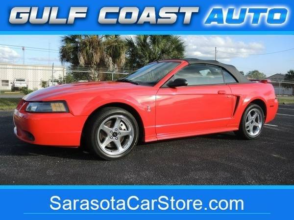 2001 Ford Mustang SVT Cobra CONVERTIBLE! FL CAR! ONLY 80K MILES!...