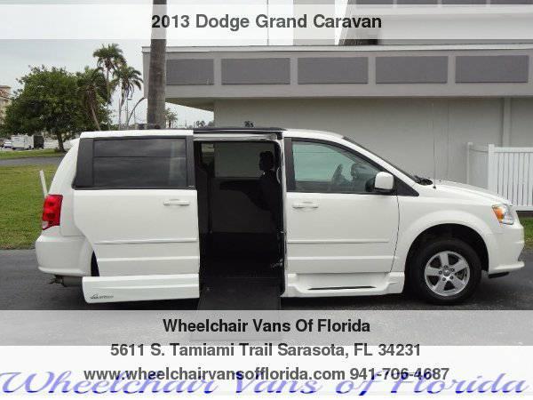 2013 Dodge Grand Caravan SXT Wheelchair Van Handicap Van