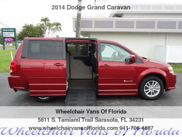 2014 Dodge Grand Caravan SXT Wheelchair Van Handicap Van