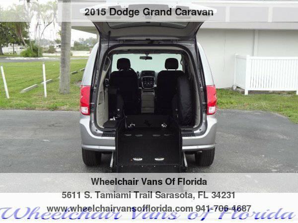 2015 Dodge Grand Caravan SXT Wheelchair Van Handicap Van