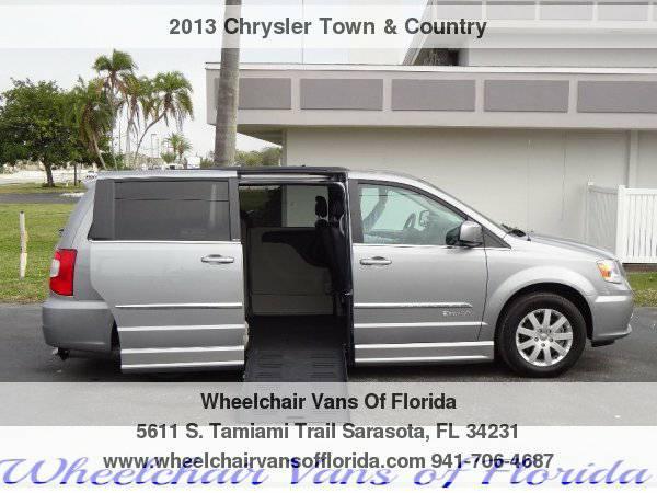 2013 Chrysler Town & Country Touring Wheelchair Van Handicap Van