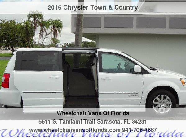 2016 Chrysler Town & Country Handicap Wheelchair Van