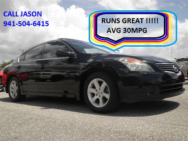 2008 Nissan Altima 2.5 S LEATHER SUNROOF 1 OWNER