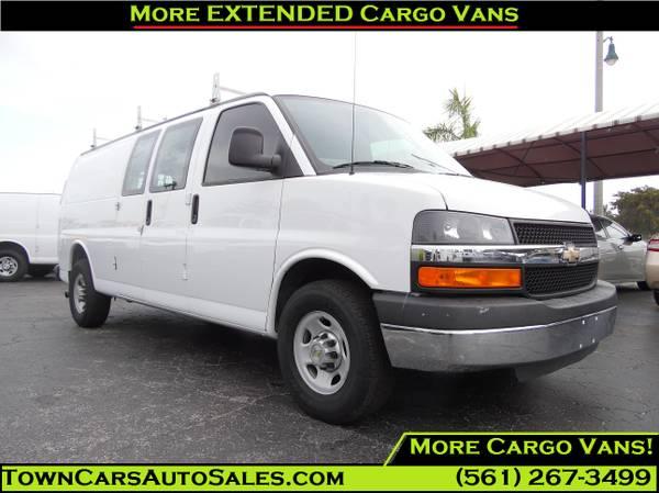 2013 Express Cargo Van LADDER RACKS/BINS Extended Cargo Van Cargo Vans
