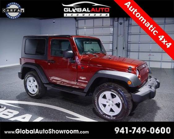 2008 *Jeep* *Wrangler* Sahara *Over 100 in Stock-Indoor Showroom-SR 64