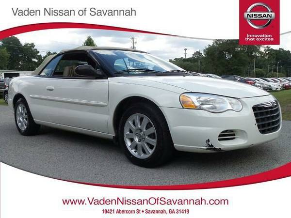 2004 *Chrysler Sebring* 2004 2dr Convertible GTC BAD CREDIT OK