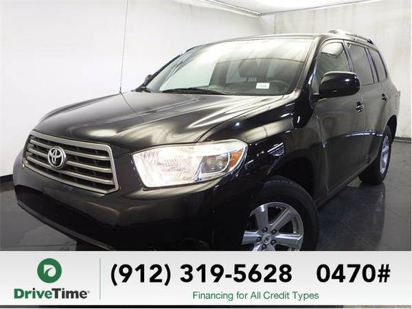 Beautiful 2008 *Toyota Highlander* Base (Black) - Clean Title