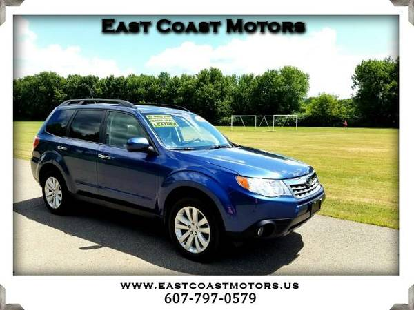 2011 Subaru Forester 2.5X Limited*Heated leather seats*Big Sunroof