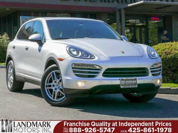 2012 *Porsche* *Cayenne* AWD 4dr Tiptronic - www.LandmarkMotors.com