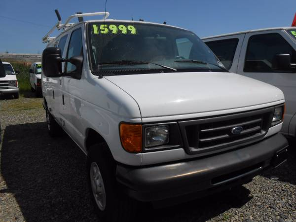 2007 Ford Econoline E250 86k Miles Cargo Van Fleet Lease Return