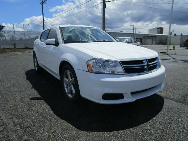2011 *Dodge* *Avenger* *Mainstreet* 4dr Car