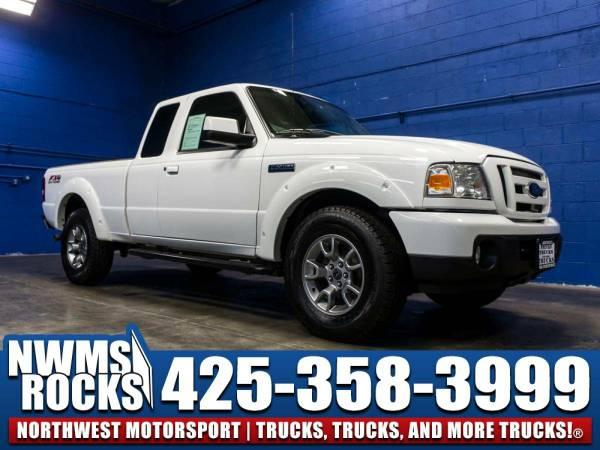2011 *Ford Ranger* 4x4 - 2011 Ford Ranger 4x4 Truck w/ Running Boards!