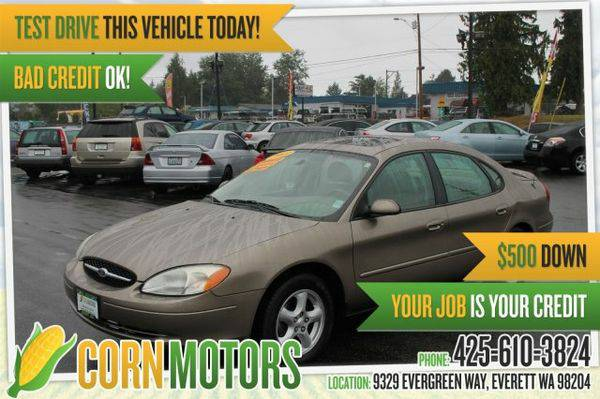 2003 *Ford* *Taurus* SES Deluxe *27 MPG* 105,799 Miles - GET APPROVED