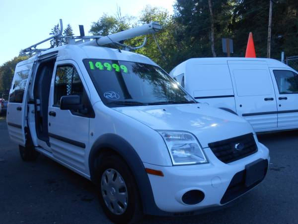 2012 Ford Transit Connect Cargo Roof Rack and Shelves 87k Miles
