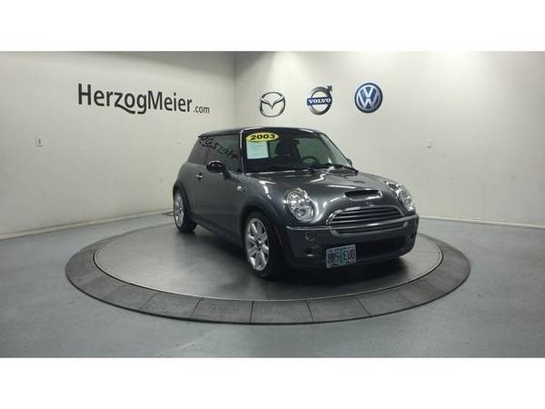 2003 *Mini Cooper S* (Dark Silver Metallic)