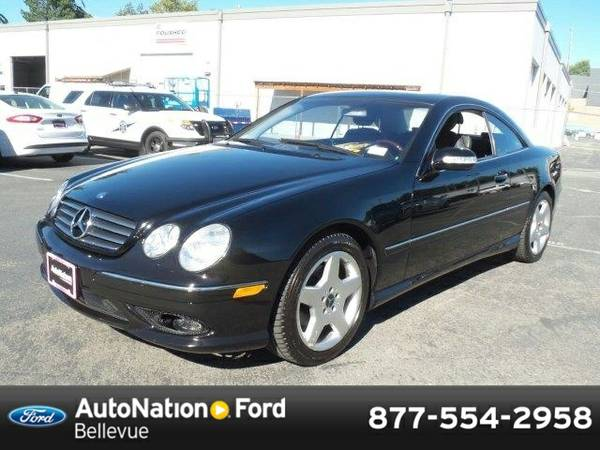 2004 Mercedes-Benz CL-Class CL500 SKU:4A040306 Coupe