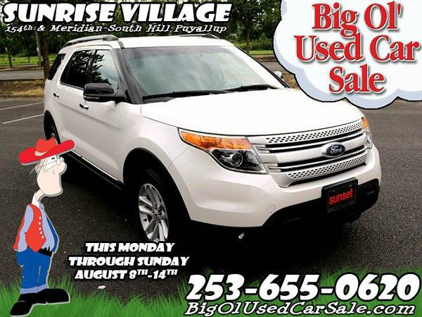 2012 *Ford* *Explorer* XLT V6 3.5L 6-Speed Automatic 4WD SUV 4x4 SUV