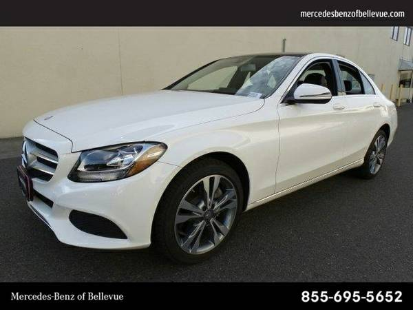 2016 Mercedes-Benz C-Class C300 SKU:GU109718 Sedan